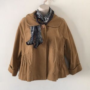 elevenses💕swing crop jacket